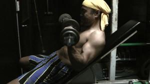 筋肉に効かせるトレーニング